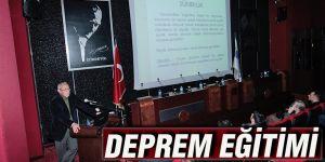 DEPREM EĞİTİMİ