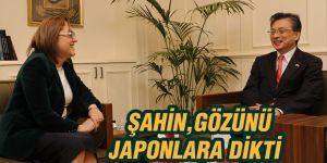 ŞAHİN, GÖZÜNÜ JAPONLARA DİKTİ
