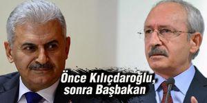 Önce Kılıçdaroğlu,sonra Başbakan