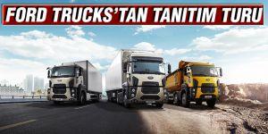 FORD TRUCKS'TAN TANITIM TURU