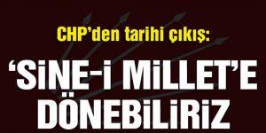 CHP'den tarihi referandum çıkışı