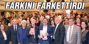 FARKINI FARKETTİRDİ