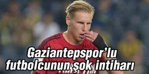 Gaziantepspor'lu futbolcunun şok intiharı