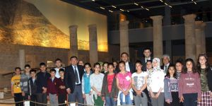 Öğrenciler, Zeugma Müzesini gezdi
