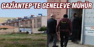 GAZİANTEP'TE GENELEVE MÜHÜR