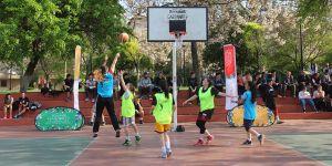 Sokak basketboluna ilgi yoğun