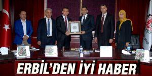 Erbil'den iyi haber