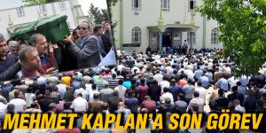 MEHMET KAPLAN'A SON GÖREV
