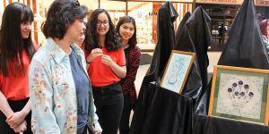 GKV'li öğrenciler Katı Sanatı sergisi