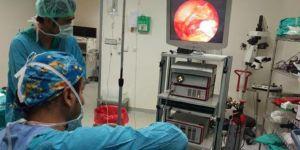 Gaziantep'te, ilk 'Endoskopik Timpanoplasti'