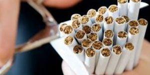 Sigarayı bırakanlara plaket