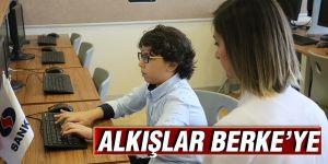 ALKIŞLAR BERKE'YE
