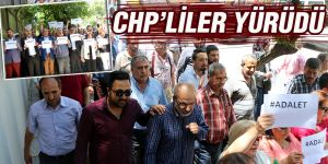 CHP'LİLER YÜRÜDÜ