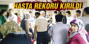 HASTA REKORU KIRILDI
