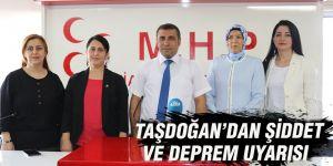 Taşdoğan'dan Şiddet ve deprem uyarısı