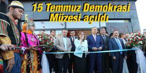 15 Temmuz Demokrasi Müzesi açıldı