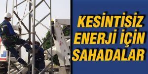 Kesintisiz enerji için sahadalar