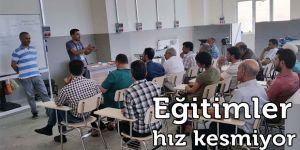 GSO-MEM'de mesleki eğitimler hız kesmeden devam ediyor