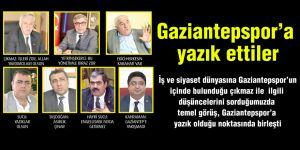 Gaziantepspor'a yazık ettiler