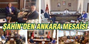 Şahin'den Ankara mesaisi