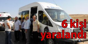 Gaziantep'te işçi servisleri çarpıştı: 6 yaralı