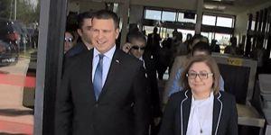 Estonya Başbakanı Gaziantep Havalimanı'nda karşılandı