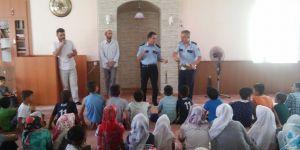 Kur'an kursunda trafik eğitimi