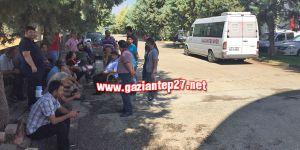 Gaziantepspor'da eylem başladı