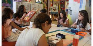 Binlerce çocuk sanatla tanıştı