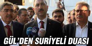Gül'den Suriyeliler için dua