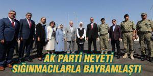Ak Parti Heyeti Sığınmacılarla Bayramlaştı