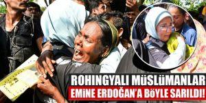 Emine Erdoğan Bangladeş'teki o kampta...