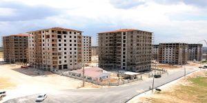 Gazikent'te konutlar yükseliyor