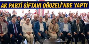 AK Parti siftahı Oğuzeli'nde yaptı