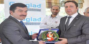 Büyükelçiden GAPGİAD'a ziyaret