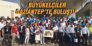 Büyükelçiler Gaziantep'te buluştu