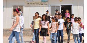 Suriyeli öğrencilerin okul heyecanı
