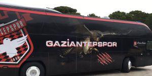 Gaziantepspor otobüsüne kavuştu