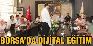 Borsa'da dijital eğitim