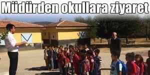 Müdürden okullara ziyaret