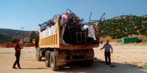 Çöp toplayıcılarına operasyon