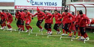 Samsunspor'da Kıran Kırana İdman