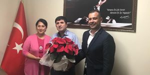 MHP'den CAHİDE'ye ziyaret