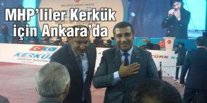 MHP'liler Kerkük için Ankara'da