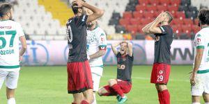 Gazişehir 1 – 1 eriyor