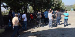 Gaziantepspor'da eylem yeniden başladı