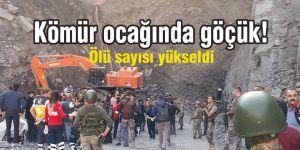 Şırnak'ta kömür ocağında göçük! Ölü sayısı yükseldi