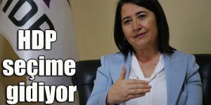 HDP seçime gidiyor