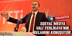 Sosyal medya Vali Yerlikaya'nın selamını konuşuyor