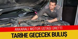 Ankara'da motor ustasından tarihe geçecek buluş